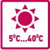 Характеристика товара: температура эксплуатации